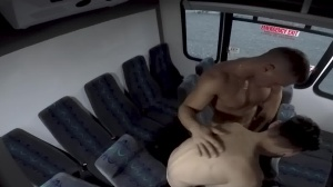 dudes In Public 28 - Bus nail - oral-sex Hook up