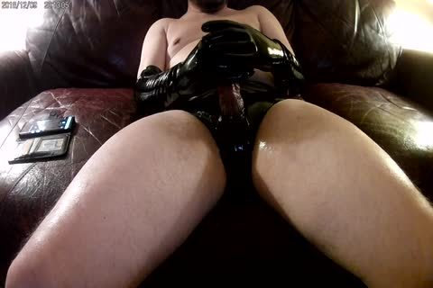 recent Elbow Length dark Latex Gloves And panties!!!