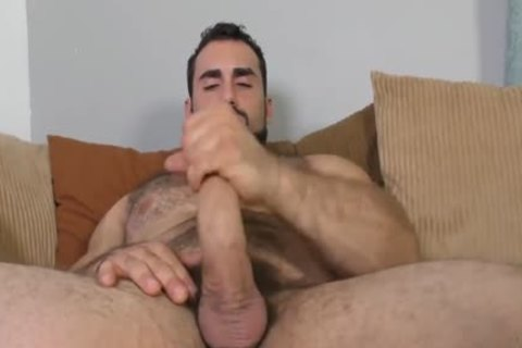 Jaxton Wheeler stroking Is bushy rod