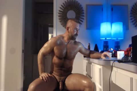 hairy Daddy Jumps On sex tool