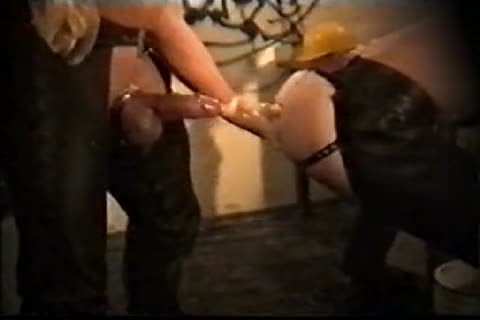 Vintage Leather Pig Dungeon