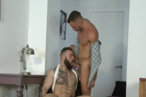 Manuel Skye & Max Hiltom plowing Each Other nude