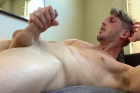 attractive lad Jerks Off