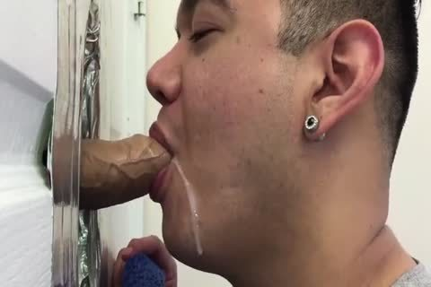 hirsute Uncut Hunk Unloads At The Gloryhole