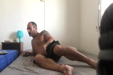 Hidden cam Catches Roommate webcam Model Broadcast Himself in nature's garb And Masturbating Showing Feet