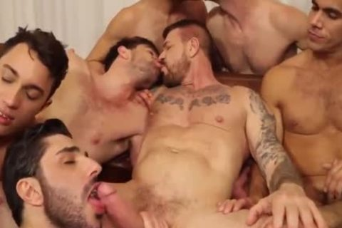 ROCCO orgy-10 fellow IN ACTION,suck,fuck & spooge-WOW!