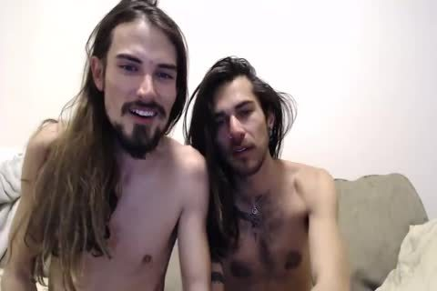 lengthy Haired twinks poke On web camera And Its Ends In A Creampie