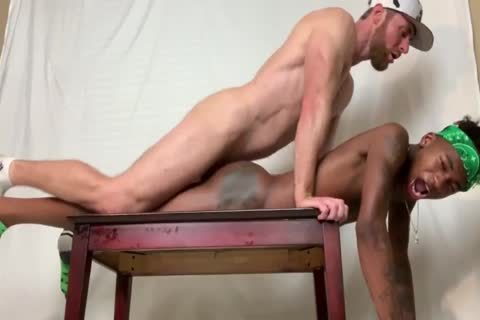 Marco Paris hammers two Smooth darksome twinks nude