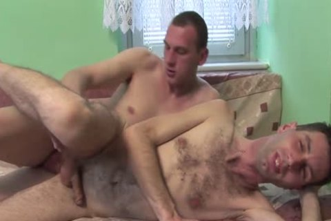 sperm penis - Two concupiscent man raw Sex