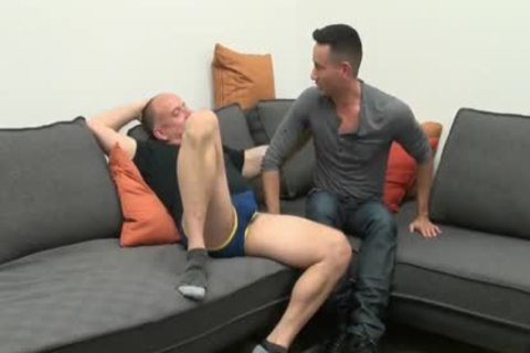 young dude Sucks & gets plowed By older Daddy