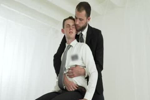 yummy Missionary guy gets Creampied By A Priest