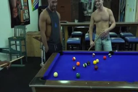 Ray Diesel, Hans Berlin, Trey Turner & Brian Bonds - Pool Game