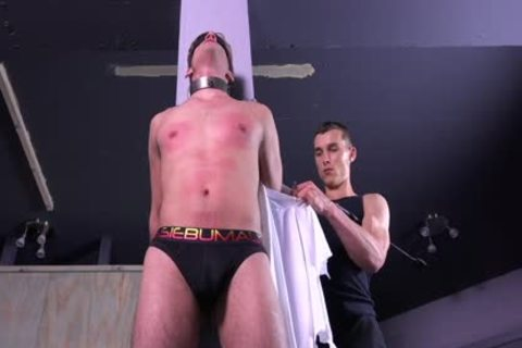 juicy Michael DelRay bound & Dominated In bdsm Dungeon