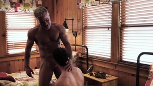 Family Dick: Tight Bar Addison and Dale Savage hard spit