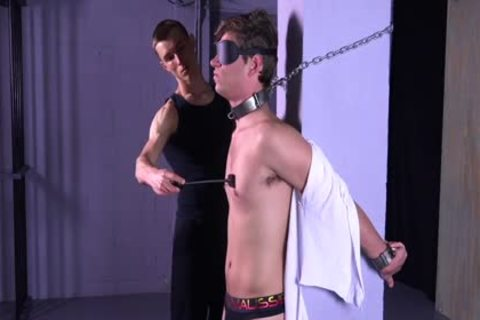 smutty Michael DelRay tied & Dominated In Sadomasochism Dungeon