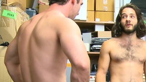 Young Perps: Long hair hairy furry Dante Drackis reality 3some