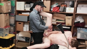 YoungPerps: Officer Wesley Woods really enjoys slamming hard