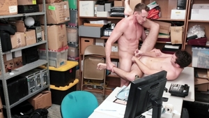 YoungPerps: Friend Brayden Wolf being pounded by Pierce Paris
