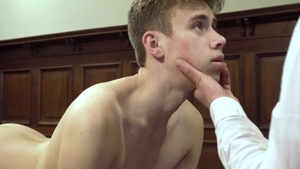 Missionary Boys: Elder Awbride first time threesome sex scene