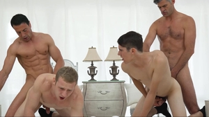 MissionaryBoys.com - Thick friend Elder Holland loves nailing