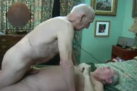 Two old males Making Love