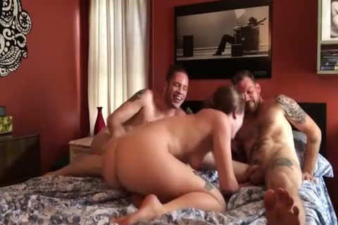bi-sexual three-some: big penis boyz