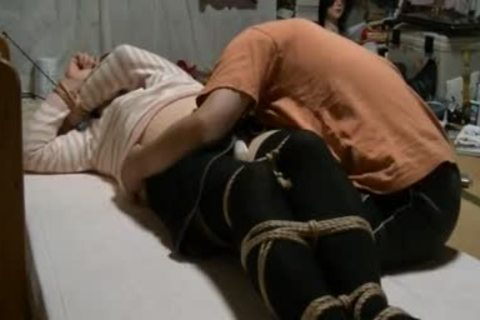 Jyosoukofujiko Hung With Rope And Attacked By Wax And W