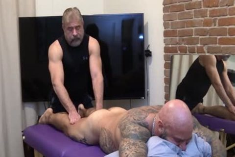 Jason Collins Erotic Massage With Jim Love