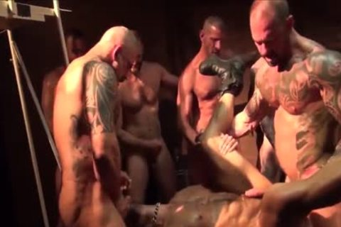 As A Bottom - My Fav Scene Compilation 09 (Muscle Tops In group sex & fuckfest)