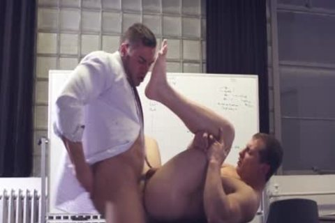 tasty gay Sex After collision At The Office