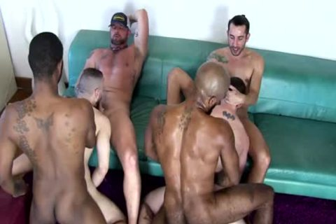 Real males gorgeous Beard orgy