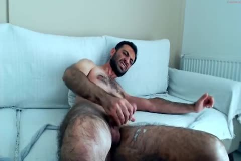 hairy Hunks jerking off On cam