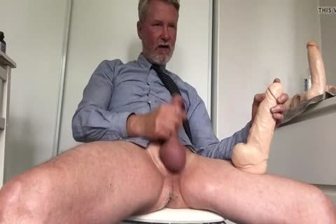 Daddy Cuming With massive sex tool Inside