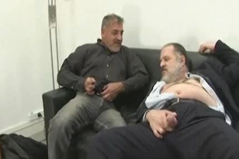 old chubby men pounding