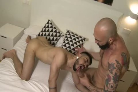 A perverted dad pounds His Son
