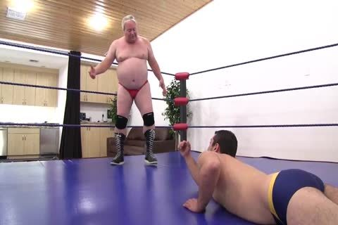 daddy Vs young Wrestling