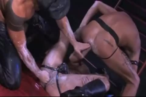 Three Muscle hot gays Fisting gay chocolate hole By -SiNN-