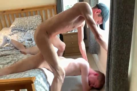 Skinny With large cock Takes Time To cum