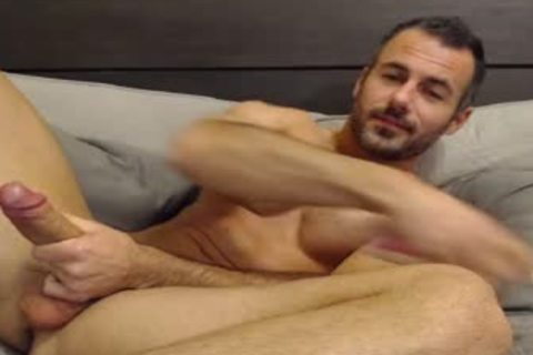 Full Show: cute Straight Daddy Eats His Creamy Load