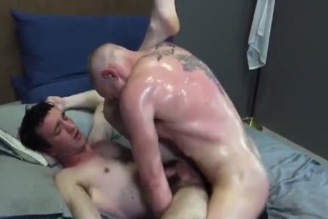 Soldiers fuck Each Other In Bedroom