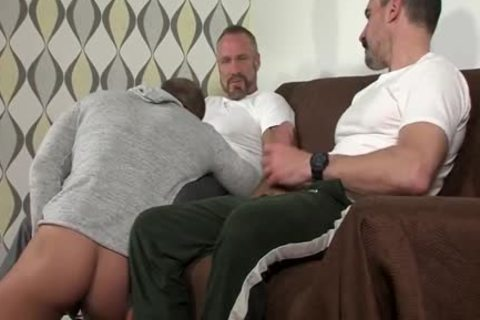 threesome With sperm drinking