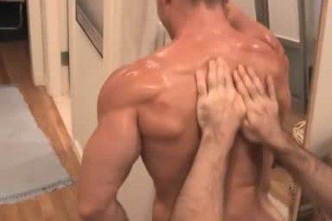Muscle Worship With A cheerful Ending