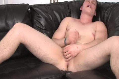 youthful lad Struggling To acquire Hard During jack off Session