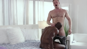 NoirMale: Brian Bonds together with Aaron Trainer ass fucking
