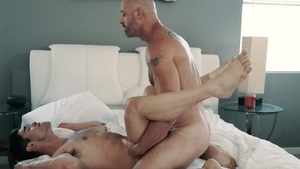 IconMale - Lucas Leon together with teacher D Arclyte rimjob