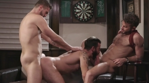 Icon Male - Wesley Woods and Brendan Patrick doggy fucks