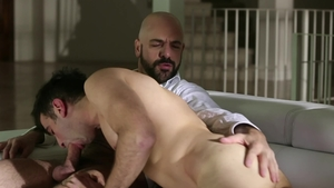 IconMale.com: Slamming hard as well as hairy mature Adam Russo
