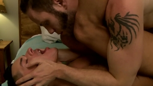 Icon Male: Wolf Hudson and Ethan Slade reality ass fuck