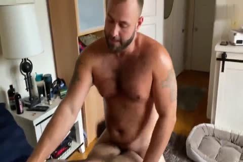 Two muscular Bears pounding Nonstop
