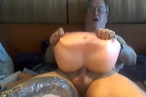 grandad Play And sperm On cam
